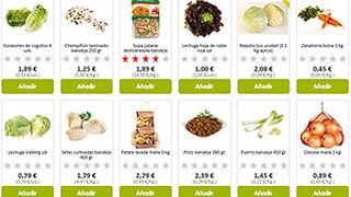 Los precios en los supermercados online subieron un 1,1% en 2015