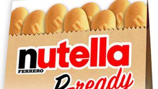 Ferrero presenta su galleta crujiente Nutella B-ready
