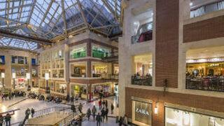 Las visitas a centros comerciales volvieron a subir en mayo