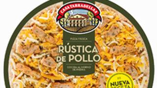 Casa Tarradellas presenta su nueva pizza rústica de pollo