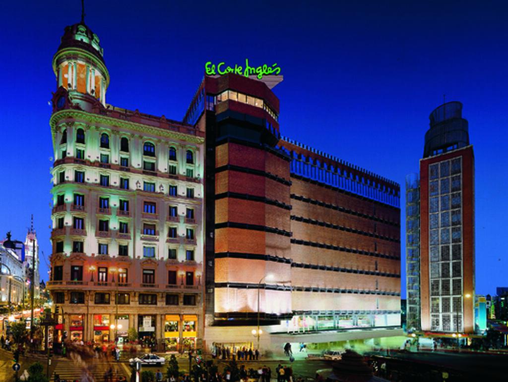 El emblemático El Corte Inglés de Callao, en Madrid