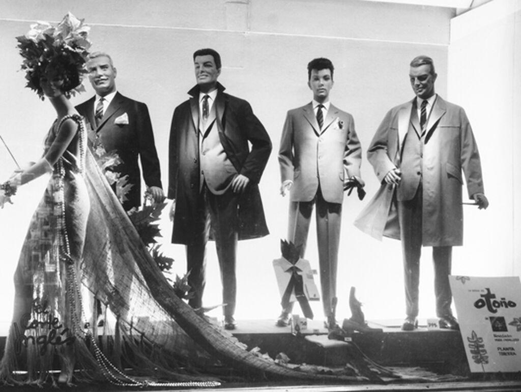 La moda mascula de los años 50, según El Corte Inglés