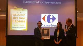 Carrefour.es, elegida como WebShop del año en España