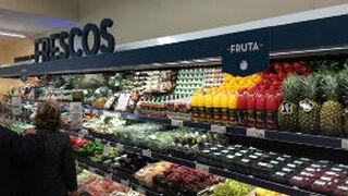 """Fruta y verdura, los frescos """"más en forma"""" en los supermercados"""