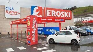 Eroski extiende a Guipúzcoa el servicio de click & drive