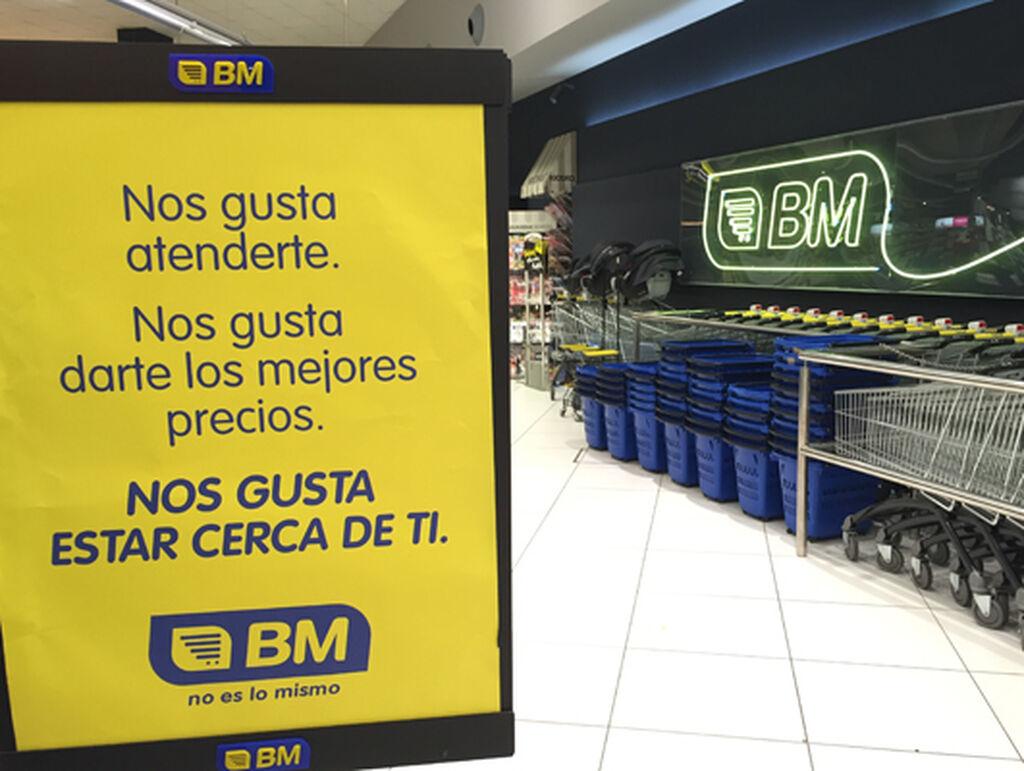 'Nos gusta estar cerca de ti', el eslogan de BM