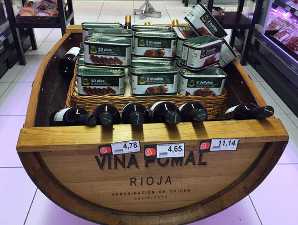 El vino riojano no falta en el BM