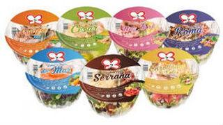 Primaflor amplía a siete su gama de ensaladas para llevar