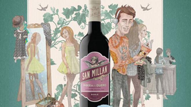 San Millán rejuvenece sus vinos para seducir a los millennials