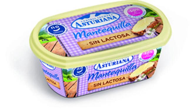 Primera mantequilla sin lactosa de Central Lechera Asturiana