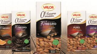 Valor presenta su chocolate Negro 70% con Almendras Sin Azúcar