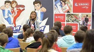 Eroski forma a 71.000 escolares sobre la alimentación saludable