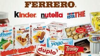 Ferrero Ibérica crece en facturación hasta los 260 millones de euros en 2020