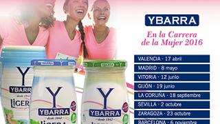 Ybarra participará en la Carrera de la Mujer 2016