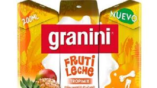 La marca Granini entra por primera vez en el lineal de leche