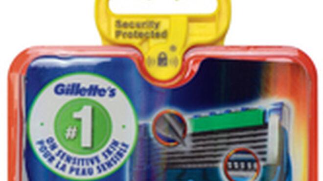 Nuevo sistema antihurto de Checkpoint para las cuchillas Gillette