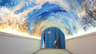 Angulas Aguinaga rinde homenaje a San Sebastián