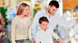 Los hogares con niños gastan el 40% más en el supermercado
