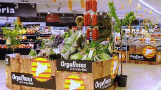 Caprabo amplía el 50% los productos locales de Cataluña