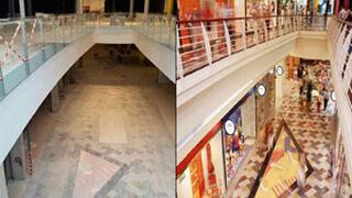 El antes y después de un centro comercial que deja de ser 'fantasma'