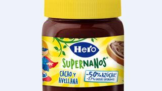 Hero busca competir con las cremas de Nocilla y Nutella