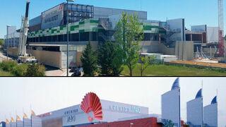El antes y después de un centro comercial