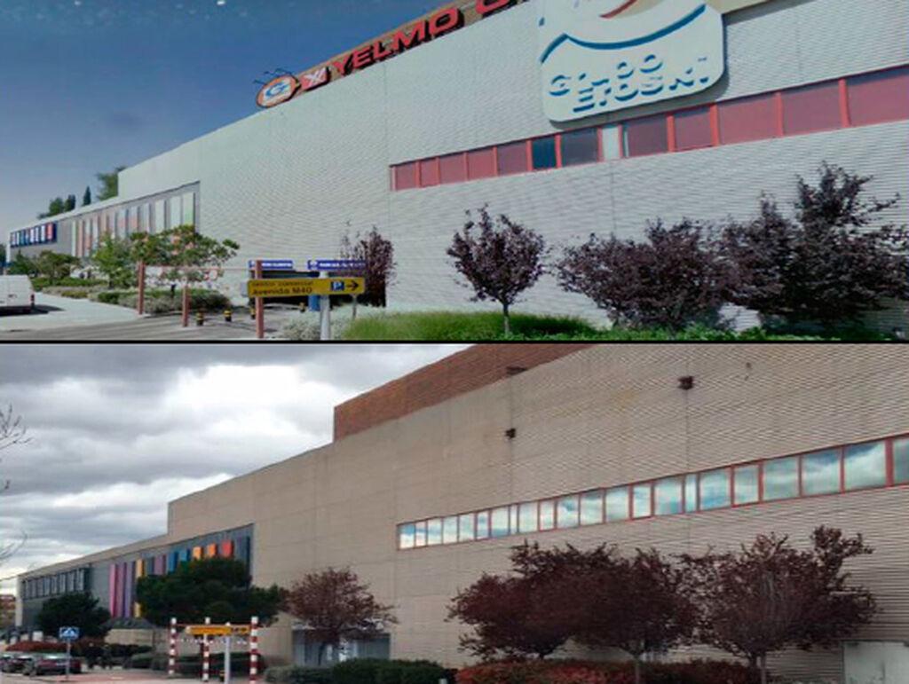 Grupo Eroski estaba en el anterior centro comercial. Ahora hay un Simply Market