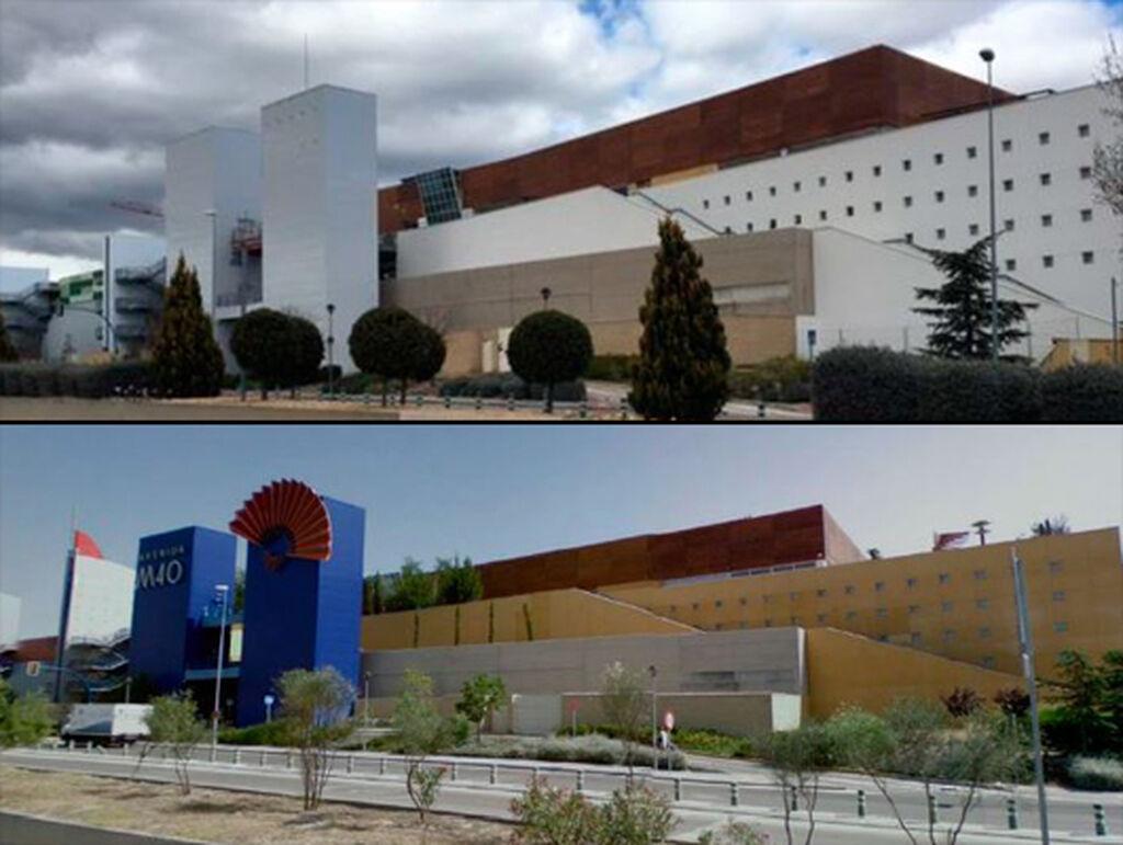 Otra imagen del exterior del nuevo centro comercial