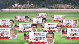 Polémica xenófoba en Alemania por una promoción de Kinder