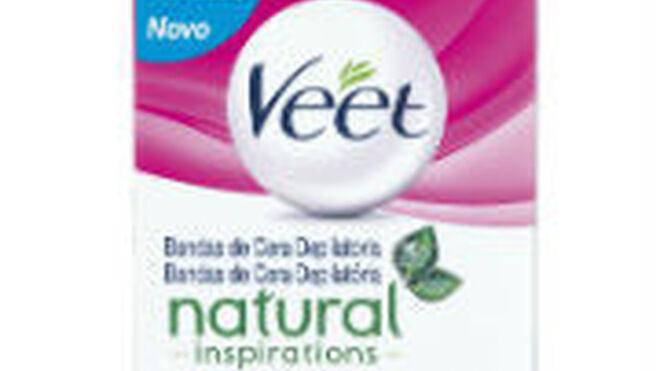Veet Natural Inspirations, depilación para pieles sensibles