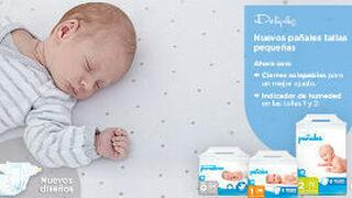 Deliplus lanza sus pañales Tallas Pequeñas para recién nacidos