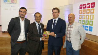 Kiwi Atlántico recibe el premio Galicia Alimentación 2016
