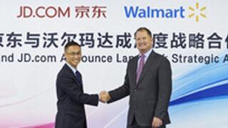 Walmart se alía con JD.com para recortar distancias a Alibaba