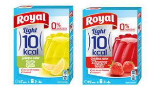 Royal y su gama de gelatinas light