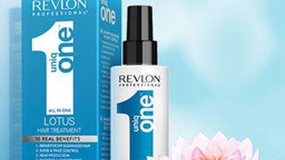 Revlon presenta su nueva fragancia capilar Uniq One de loto