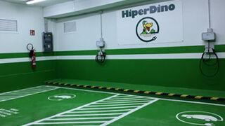 HiperDino instala su primer punto de recarga de vehículos eléctricos