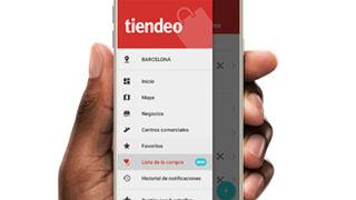 Tiendeo estrena en su app la lista de la compra 2.0