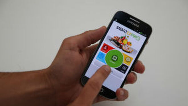 Una app experimental ayuda a comprar de manera saludable