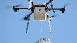 Una compra para la historia entregada gracias a unos drones