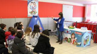 Eroski atrae a los escolares con sus programas de alimentación