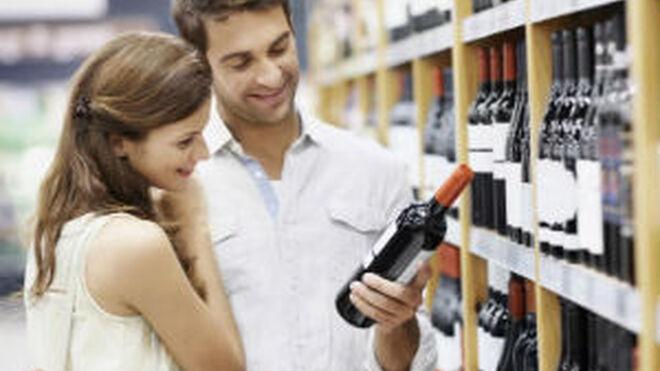 El vino lidera las ventas de bebidas en supermercados