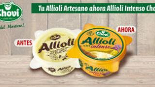 El Allioli Artesano de Choví se llama ahora Allioli Intenso