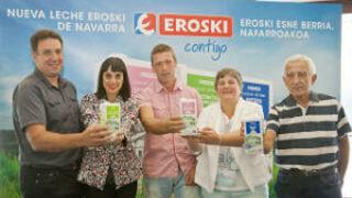 La cooperativa Saiona producirá leche marca Eroski
