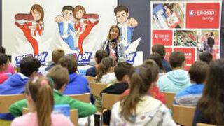 Eroski lleva a su programa educativo al Basque Culinary Center