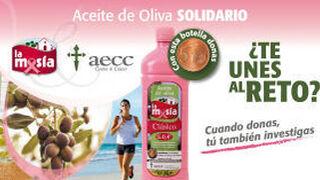 La Masía se pone el lazo rosa en su lucha contra el cáncer de mama