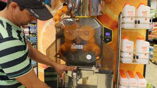 Hiperber instala máquinas Zumex siguiendo el ejemplo de Mercadona