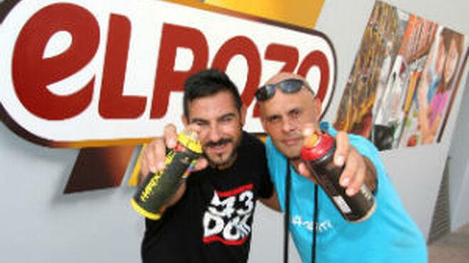 ElPozo acude a grafiteros profesionales para pintar su eslogan