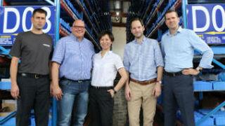 Jungheinrich abre un nuevo almacén de recambios en China