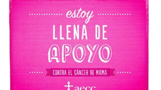 Dia vende una bolsa rosa para luchar contra el cáncer de mama