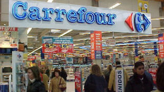 Carrefour España sube en ventas por primera vez en cinco años
